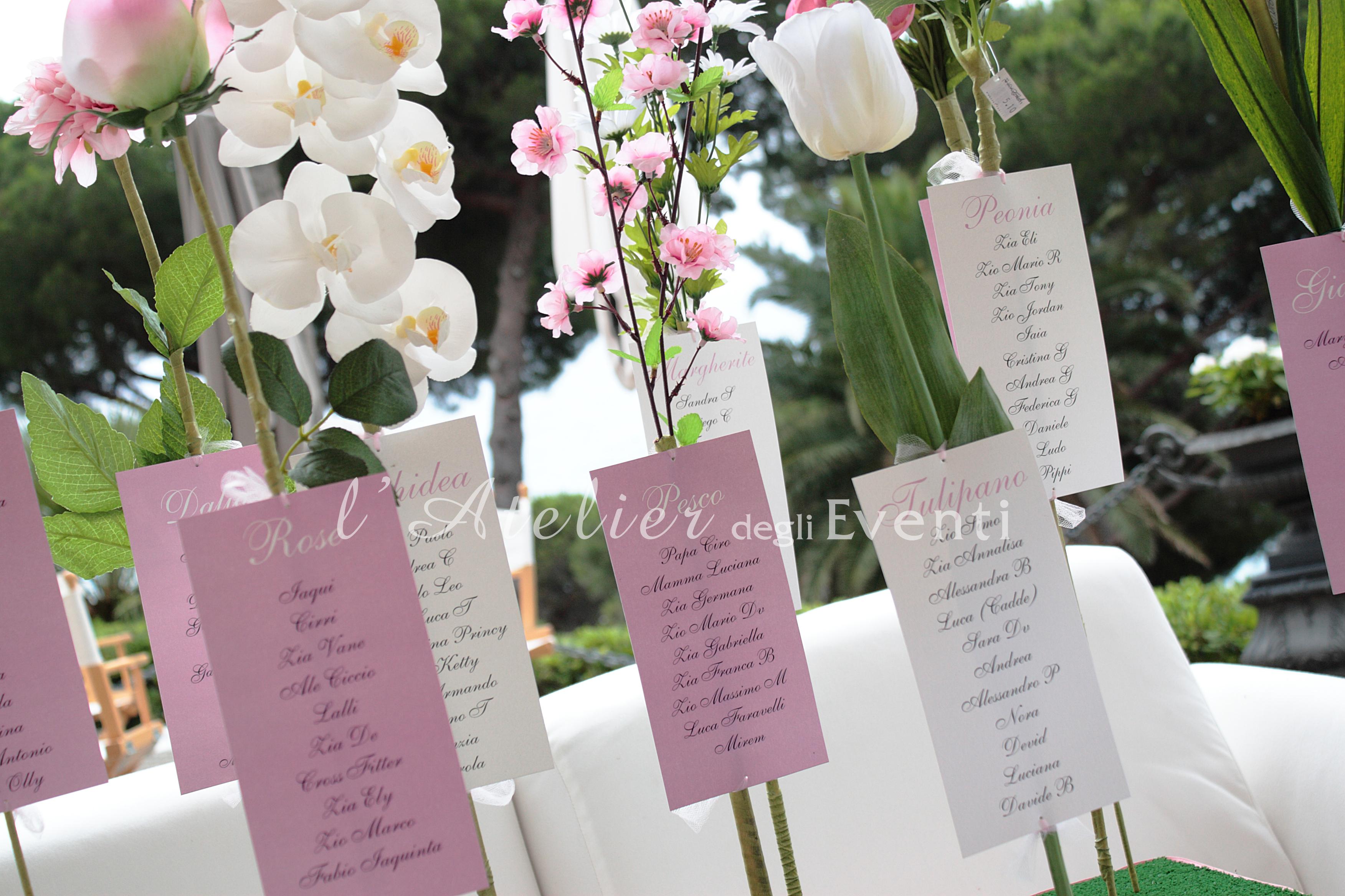 tableau_mariage_fiori_matrimonio_rosa